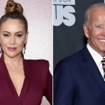 Alyssa Milano backs Joe Biden amid sexual misconduct claims
