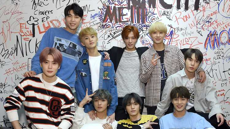 NCT 127 Continue 'We Are Superhuman' EP Promo in NYC