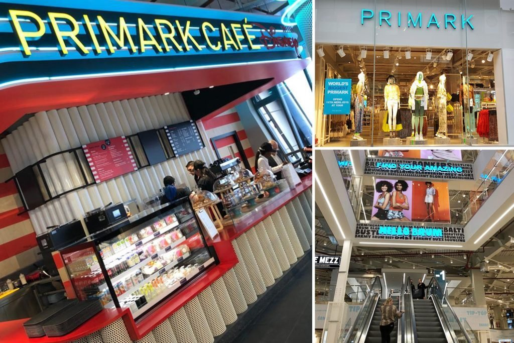 First pictures show inside the world's biggest Primark ...
